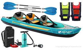 Sevylor Alameda Premium Kit 2 Inflatable Kayak