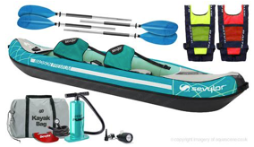 Madison Premium Sevylor Inflatable Kayak (Kit 2)