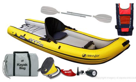 Sevylor Reef 240 Inflatable Sit-on Kayak