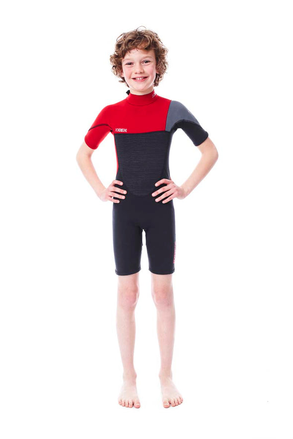 Jobe Youth Shorty Wetsuit (Red)
