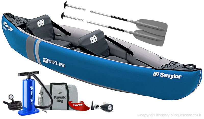 Sevylor Adventure 2 Person Inflatable Canoe (2021)
