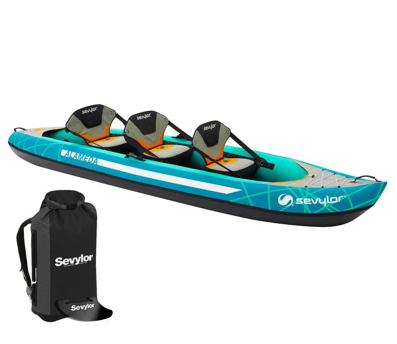 Sevylor Alameda (2021) 3-person (2+1) Inflatable Kayak