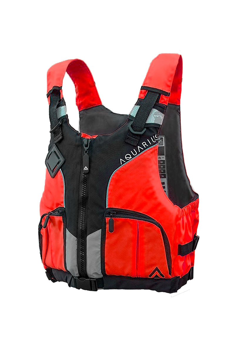 Aquarius Canoe Vest (Red/Youth)