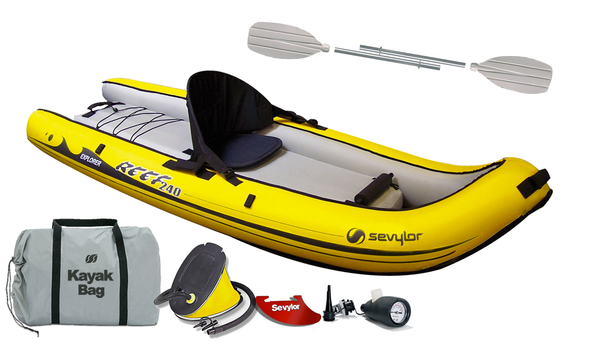 Sevylor Reef 240 Inflatable Sit-on Kayak (2019)