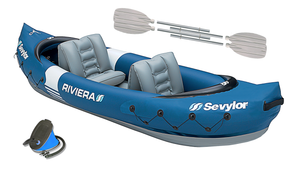 Sevylor Riviera 2 Person Inflatable Kayak (2019)