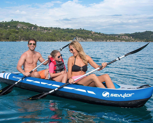 Sevylor Willamette (2021) 3-person (2+1) Inflatable Kayak