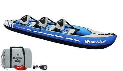 Sevylor Willamette (2020) 2+1 Inflatable Kayak (Blue)
