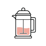 brewing mellow rooster with a french press