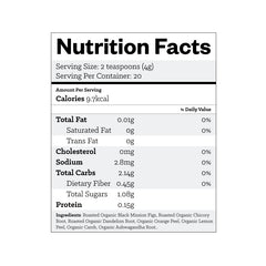 Mellow Rooster nutrition facts