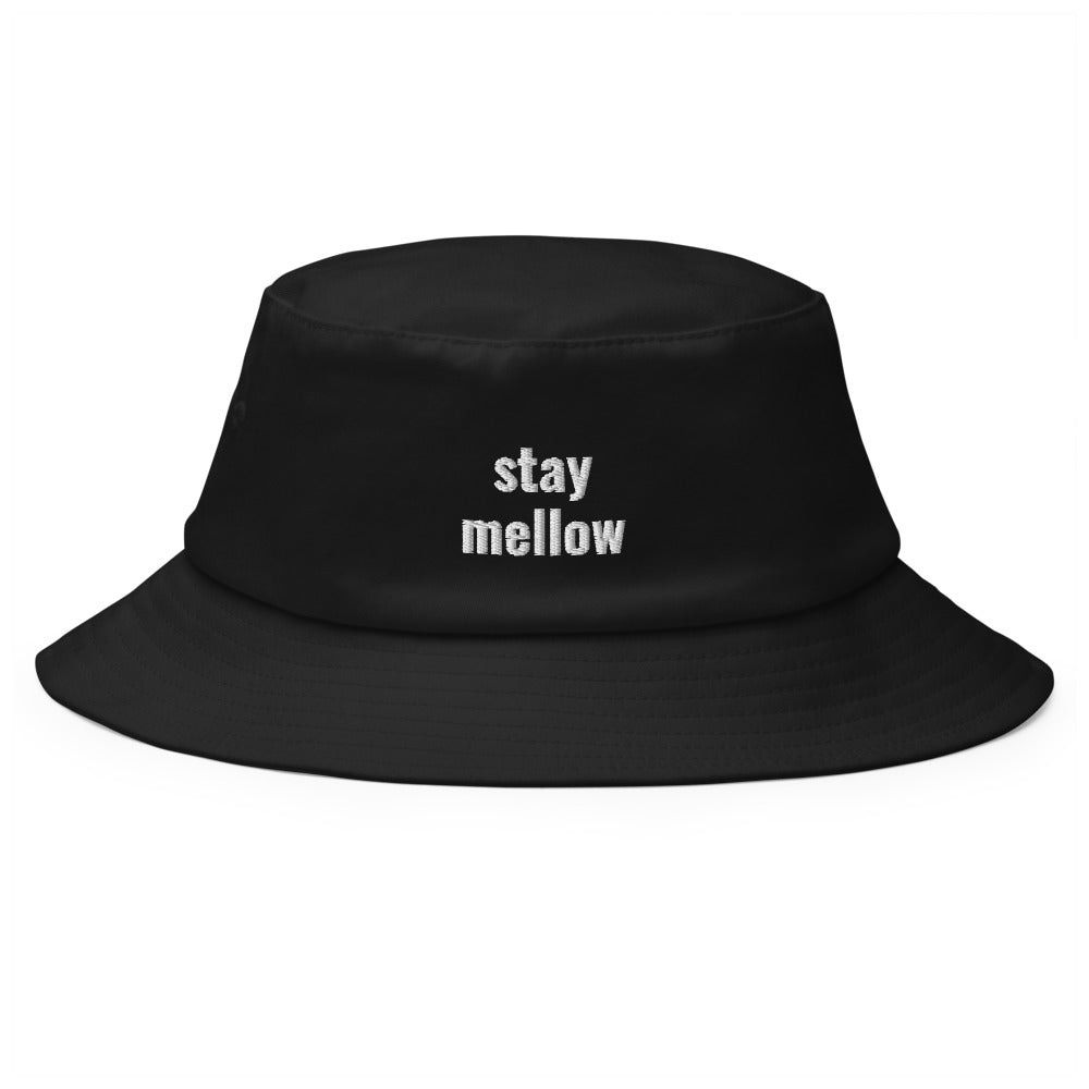 stay mellow bucket hat