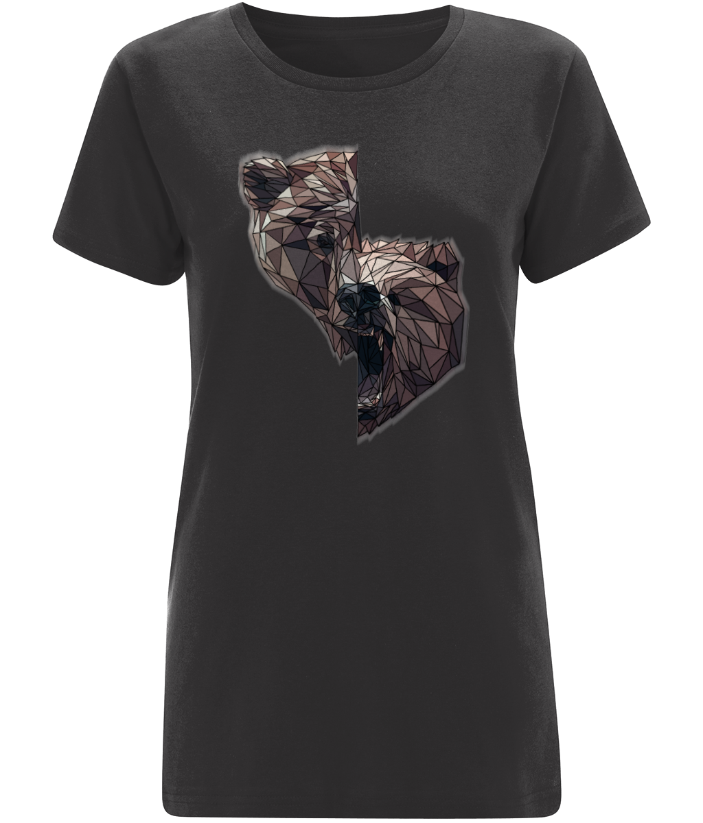 Split Bear Women's Grey Tee