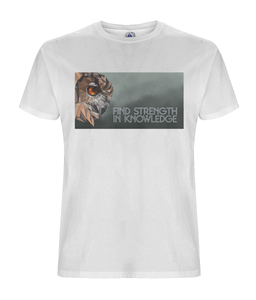 Strength Mens White Tee