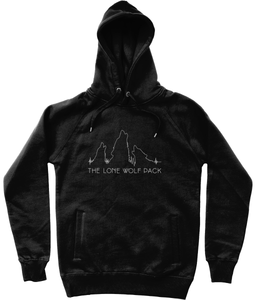 The Lone Wolf Pack Black Hoodie