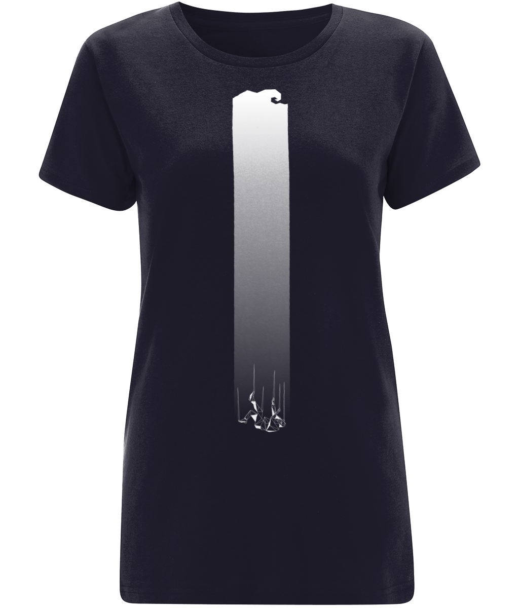 Drowning Women's Navy T-Shirt