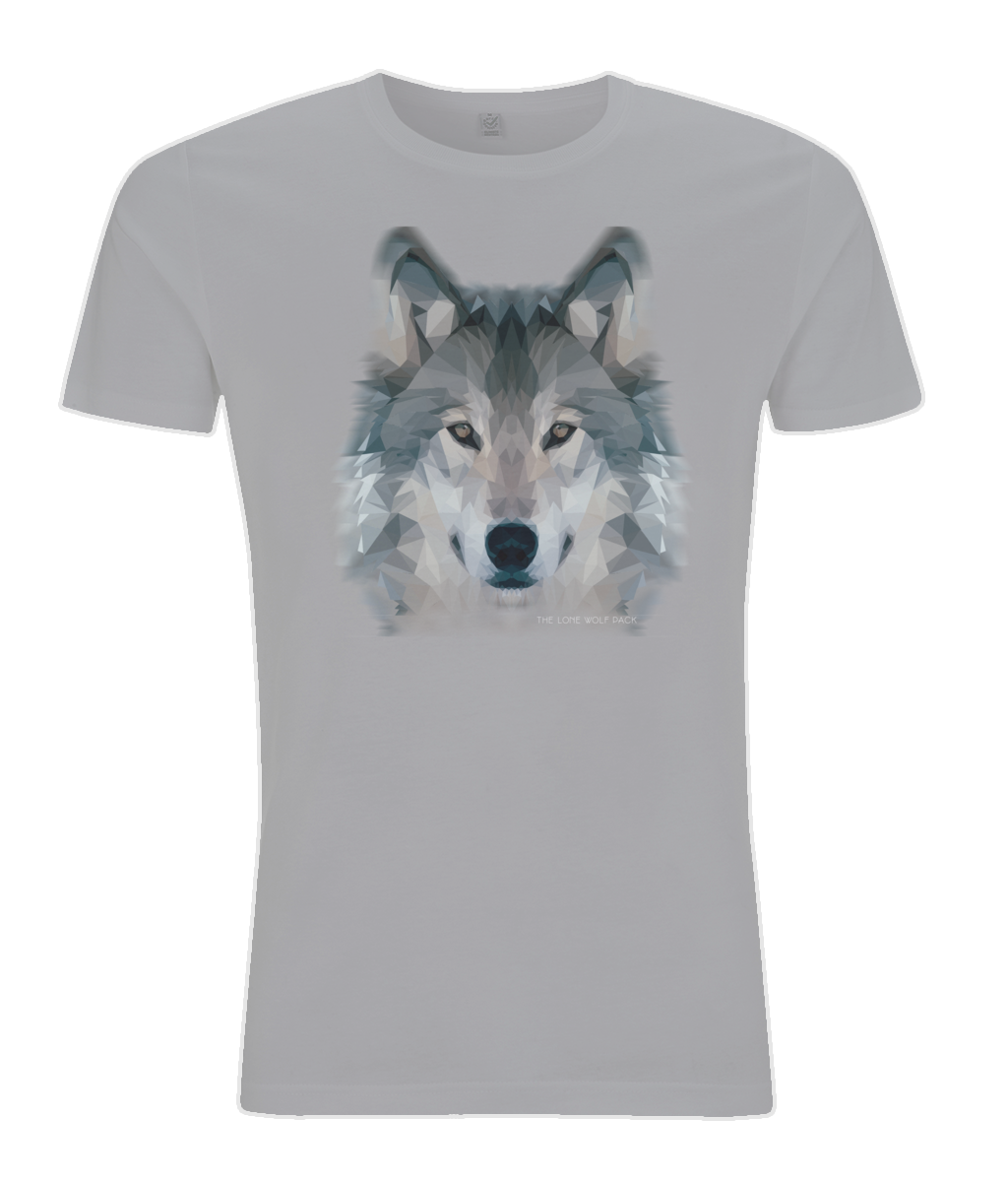 Wolf Men's Grey T-shirt