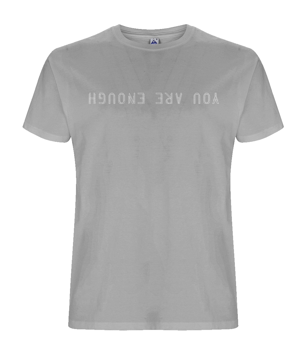 You Are Enough Men's Grey T-Shirt