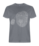 Hidden Growth Men's Grey T-Shirt