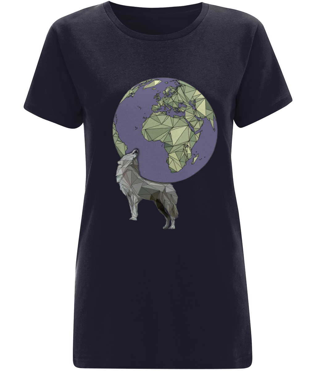 Atlas Women's Navy Tee