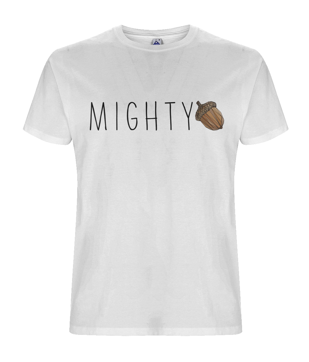 Mighty Men's White Tee