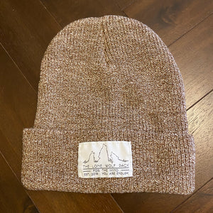 Heather Oatmeal Beanie