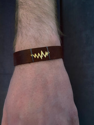Beating Leather Bracelet