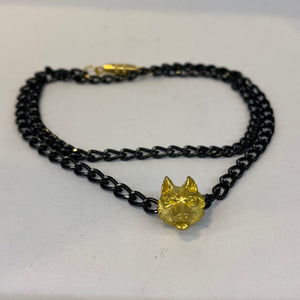 Black Chain Necklace