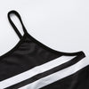 Women Striped Vest Top Sleeveless Casual Tank Blouse Summer Tops T-Shirt