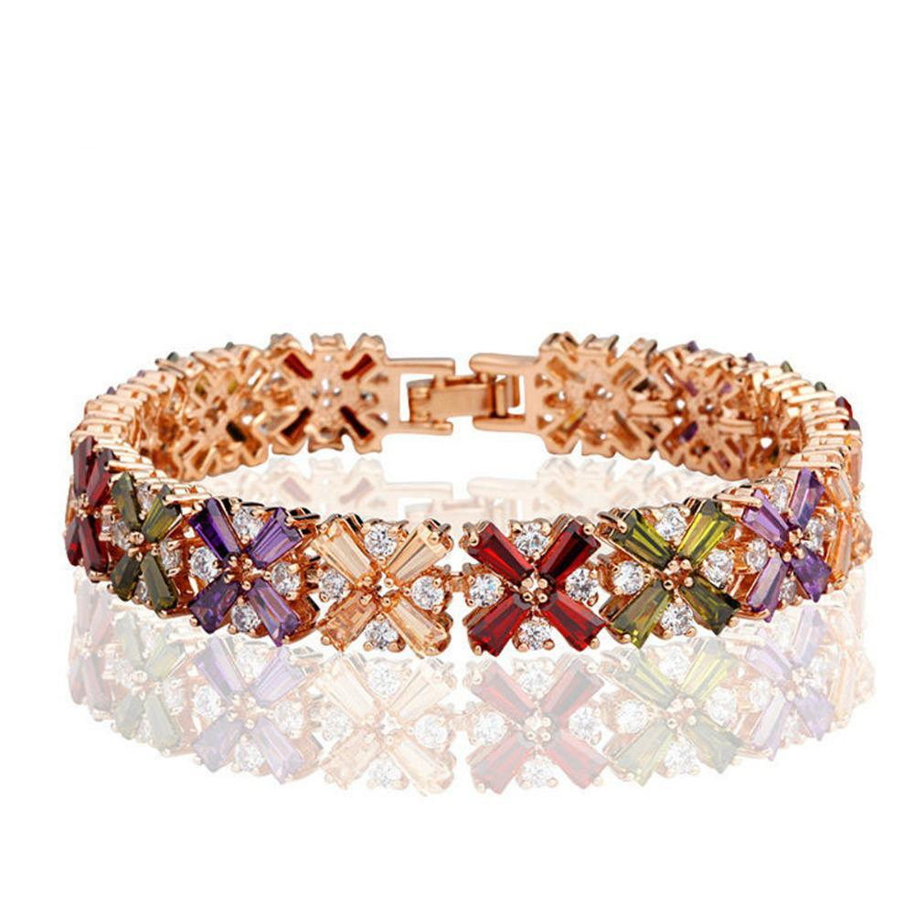 of zircon v rose marble gold silver copy bracelet products