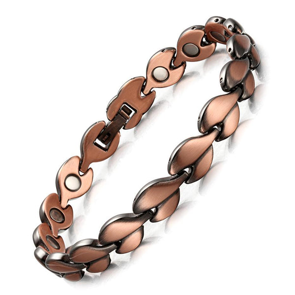 Red Copper Healing Magnetic Bracelet for women/Bio Energy Bracelet