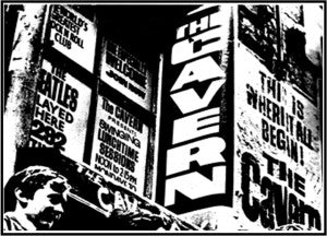 The Cavern Club in the 1960s