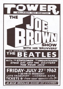 The Beatles and Joe Brown Show