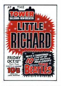 The Beatles & Little Richard at Tower Ballroom