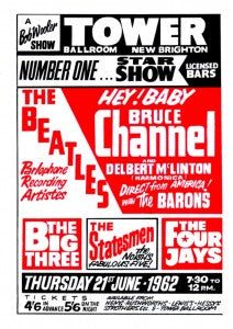 The Beatles Gig Poster for Brian Epstein