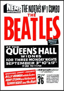 The Beatles Concert at Queens Hall