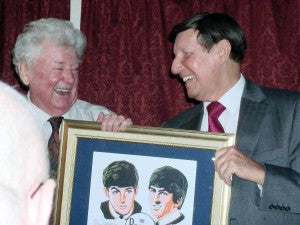 Tony Booth & Allan Williams, The Beatles Manager & Promoter