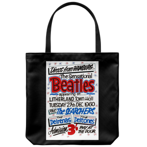 The Beatles Tote Bag Direct From Hamburg