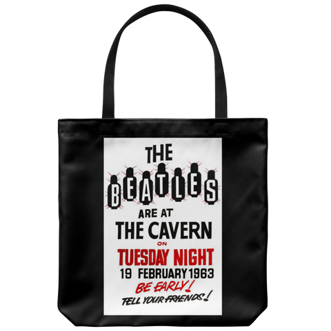 The Beatles at The Cavern Club Tote Bag 1963