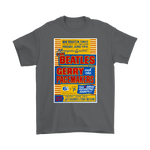 The Beatles T-Shirt - Yellow Concert Poster 1963