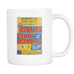 The Beatles Yellow Concert Poster Mug