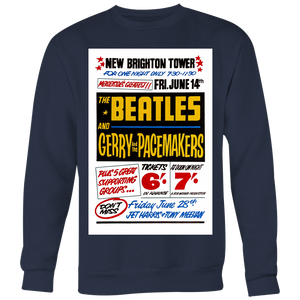 The Beatles at New Brighton Tower Sweatshirt
