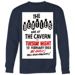 The Beatles at The Cavern Club 1963 Sweatshirt