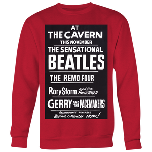 The Beatles at The Cavern Club Sweatshirt