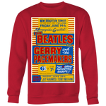 The Beatles Yellow Concert Poster Sweatshirt