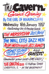 The Cavern Club Grand Opening Poster 1957