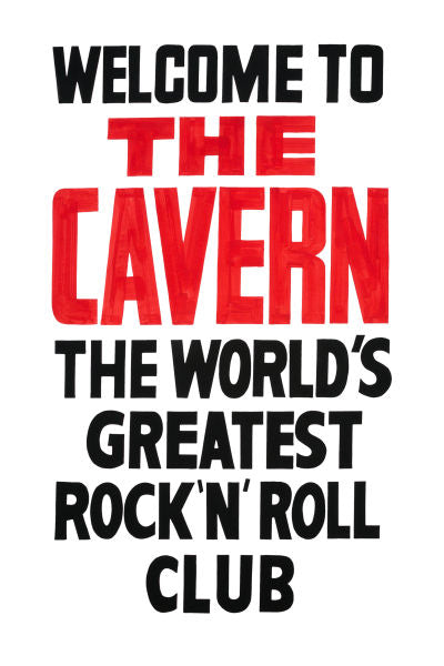 The Cavern Club Entrance Poster