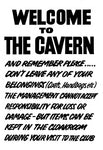 The Cavern Club Customer Message Poster
