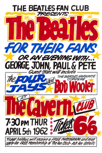 The Beatles Fridge Magnet 'For Their Fans' 1962