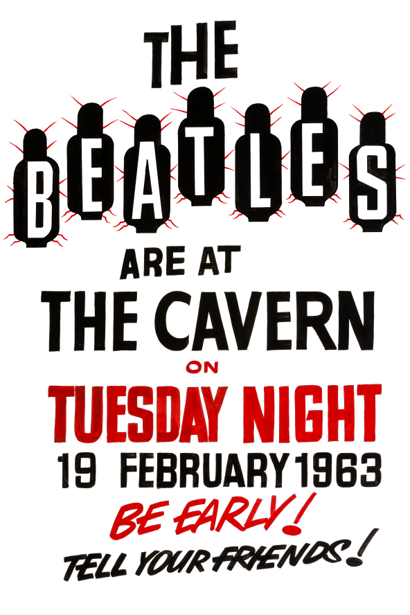 The Beatles At The Cavern Club Fridge Magnet