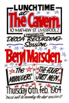 Beryl Marsden at The Cavern Club Poster 1964