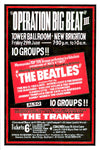 The Beatles 'Operation Big Beat 3' Concert Poster 1962